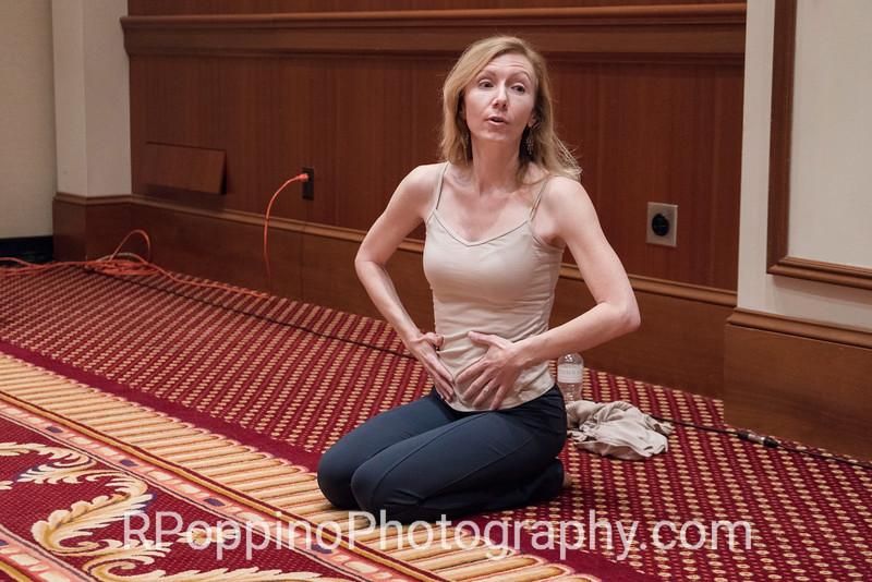 Yoga for Singers: Workshop Warm-Ups, Dr. Linda Lister, University of Nevada, Las Vegas, Thursday, January 7, 2016.