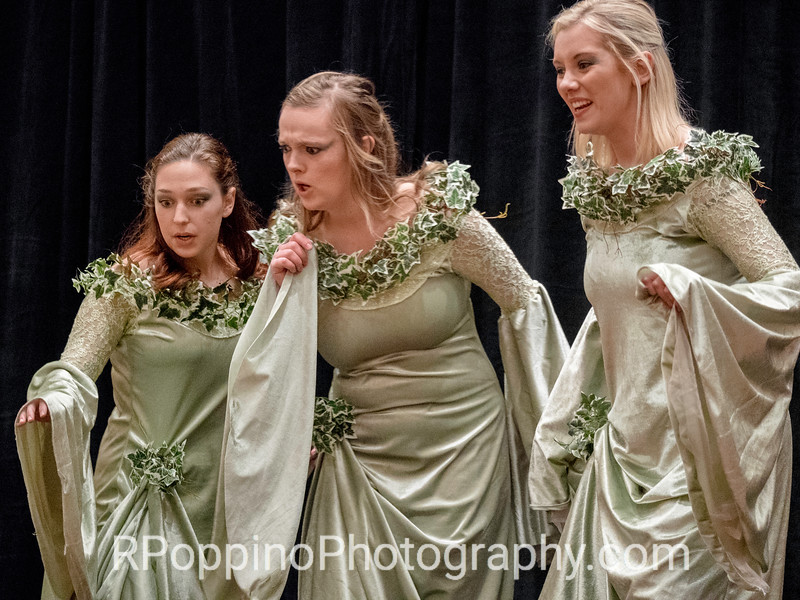 2016 Collegiate Opera Scenes Competition: Dvorak, Rusalka, Act I, sc. 1, DePauw University, Thursday, January 7, 2016.