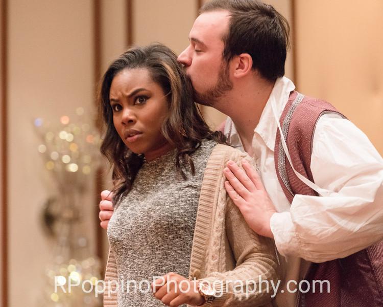 Mozart, Le nozze di Figaro, Act I, sc. 1, Sam Houston State University, rehearsal, Wednesday, January 2016.