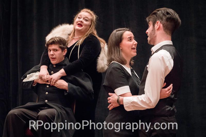 Mozart, Le nozze di Figaro, Act III, Sextet, Lawrence University, rehearsal, Wednesday, January 6, 2016.