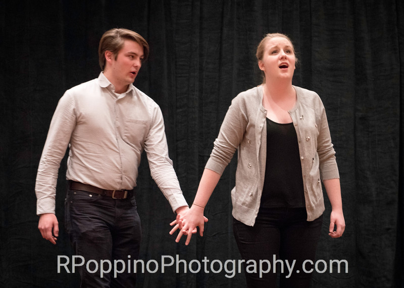 "Gordon, The Grapes of Wrath, Act I, ""The Lincoln Zephyr/One Star,"" Michigan State University, rehearsal, January 6, 2016."