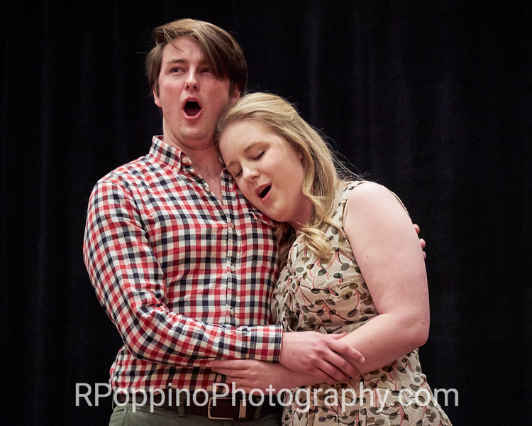 """2016 Collegiate Opera Scenes Competition; Gordon, The Grapes of Wrath,  Act I, """"The Lincoln Zephyr/One Star,"""" Michigan State University, Thursday, January 7, 2016."""