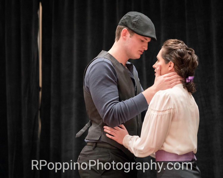 """2016 Collegiate Opera Scenes Competition; Rodgers and Hammerstein,  Carousel, Act I, """"The Bench Scene,"""" Sam Houston State University, Thursday, January 7, 2016."""