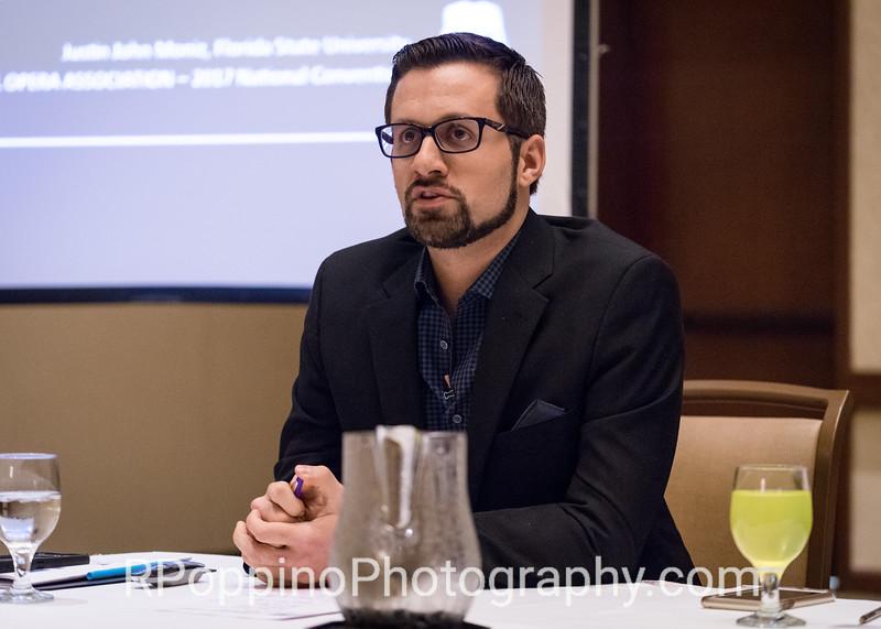 Justin John Moniz; Moderator; The 21st Century Way Redefining the Opera Workshop