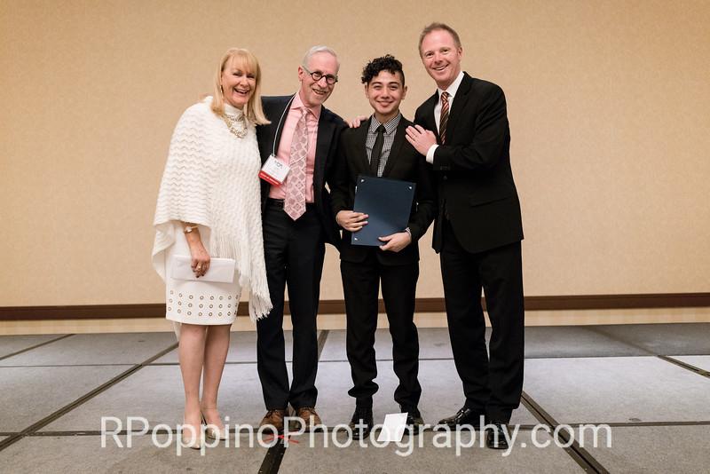 Rudy Giron, countertenor, Legacy Award Winner, NOA Vocal Competition; with Linda di Fiore, David Ronis, and Benjamin Brecher.
