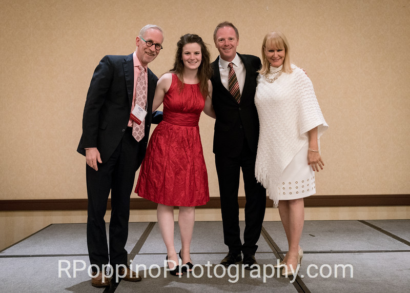 Liv Redpath; soprano; 2nd Place Winner; Scholarship Division; NOA Vocal Competition; with David Ronis; Benjamin Brecher; and Linda di Fiore.