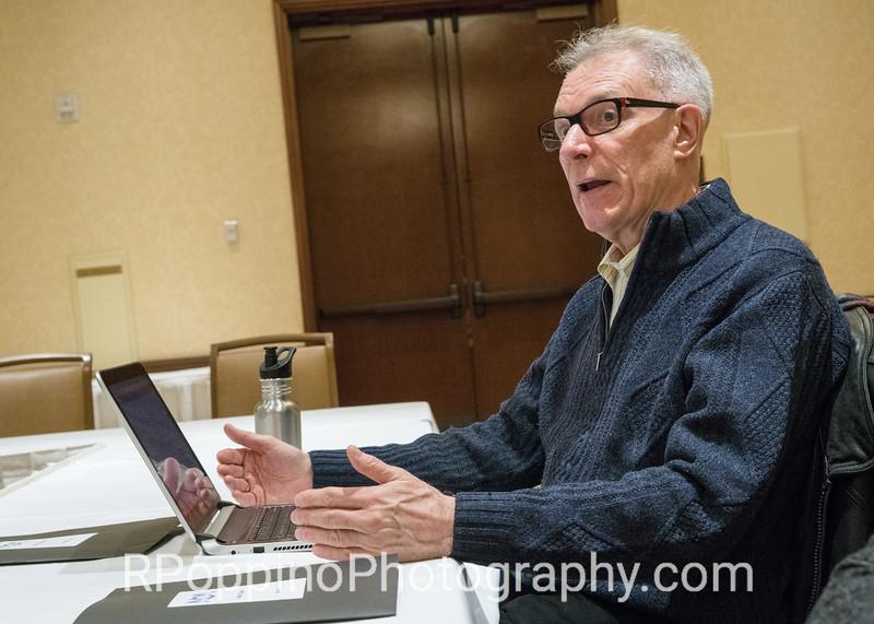Former Convention Chair Gordon Ostrowski making proposal to NOA Board
