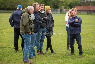 Newmarket Racing Club stable vist to Tom Clover and Charlie Fellows yards in Newmarket.