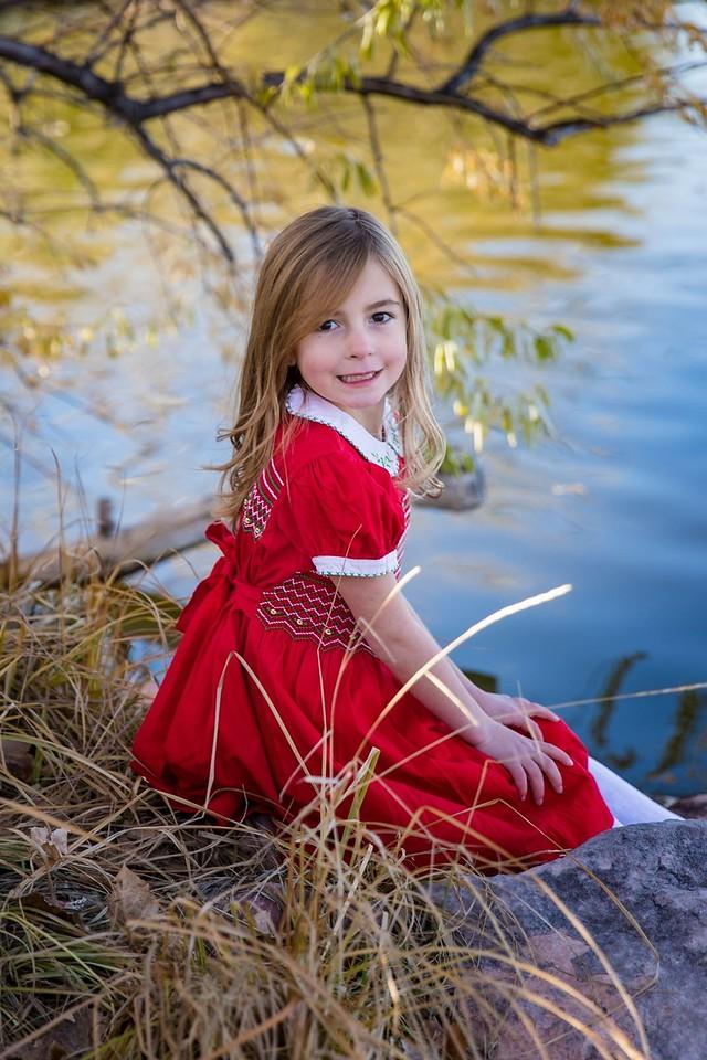 Vivian red dress