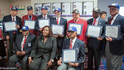 City of Fontana Mayor Acquanetta Warren & The Tuskegee Airmen