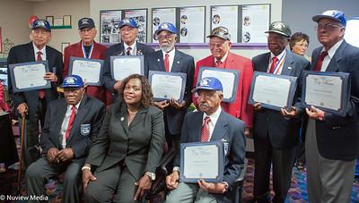 City of Fontana Mayor Acquanetta Warren & The Tuskegee Airmen