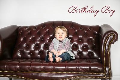 Odric's 1st Birthday & Smash Cake Session, Lexington, KY 3.1.15.