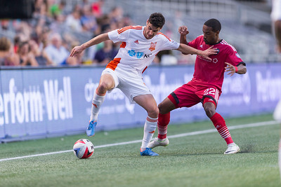 NASL 2016: Carolina RailHawks vs Ottawa Fury FC July 27