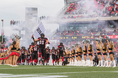 CFL 2016: Stampeders vs Redblacks July 08