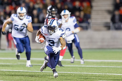 CFL 2016: Argonauts vs Redblacks September 23