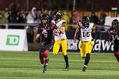 CFL 2016: Tiger-Cats vs Redblacks  October 21