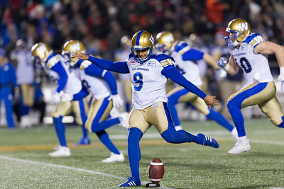 CFL 2016: Blue Bombers vs Redblacks NOV 04