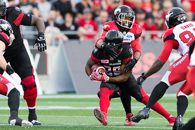 CFL 2017: Stampeders vs Redblacks JUN 23