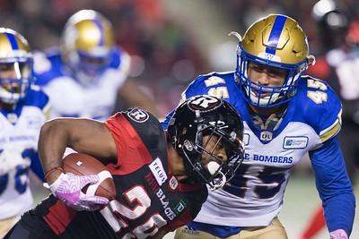 CFL 2018: Blue Bombers vs Redblacks  OCT 05