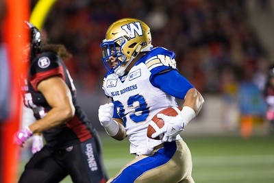 CFL 2018: Blue Bombers vs Redblacks  OCT 05