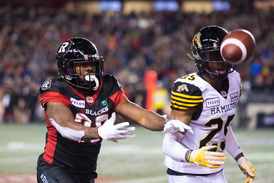 NHL 2018: Tiger-Cats vs Redblacks  OCT 19