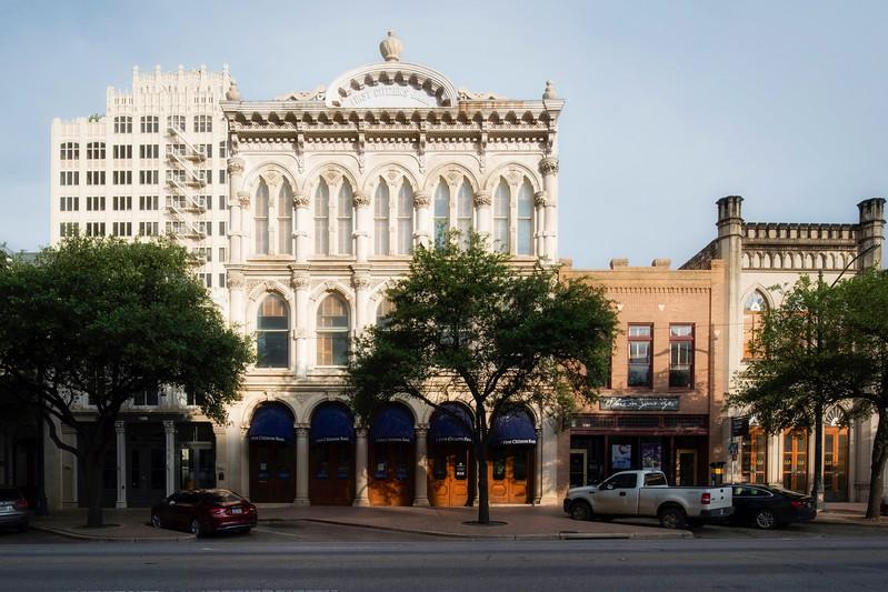 710 Congress Walter Tips Building (1876-1877), 714 Congress, 716 Congress Johns-Hamilton Building (1870)