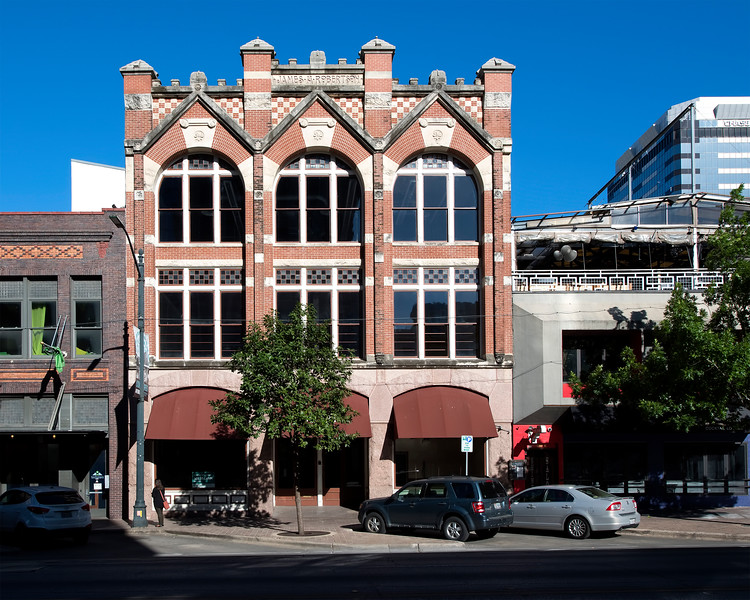 James H. Robertson Building (1893) 416 Congress Avenue