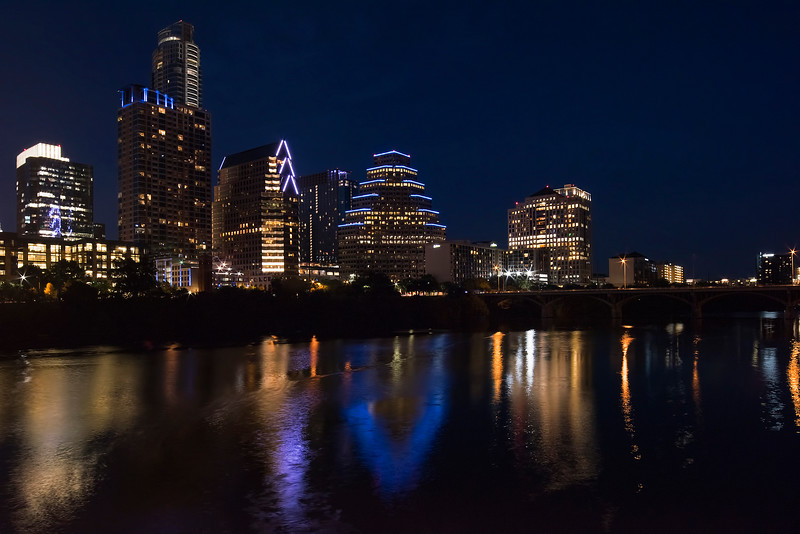 Skyline (looking toward Congress Bridge)