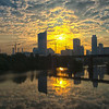 Austin Skyline sunrise
