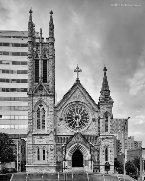 St. Mary Cathedral (b&w)