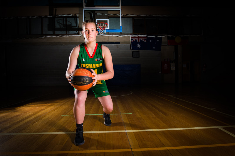Basketball - Makala Bingley-16