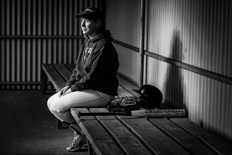Sports Portraits - Softball - Sarah French-2