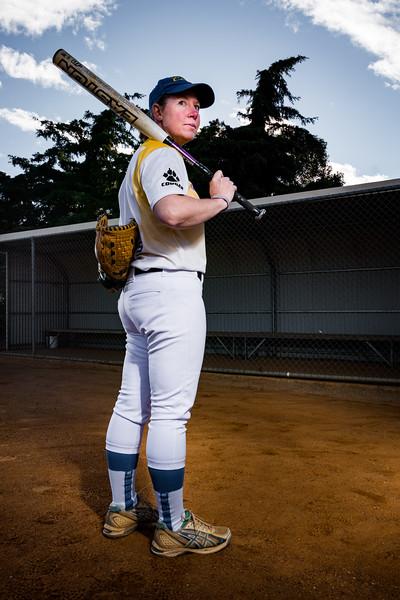 Sports Portraits - Softball - Sarah French-36