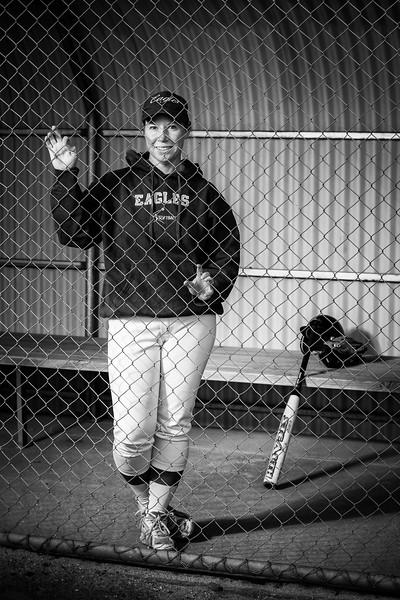 Sports Portraits - Softball - Sarah French-9