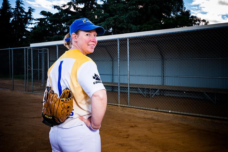 Sports Portraits - Softball - Sarah French-30