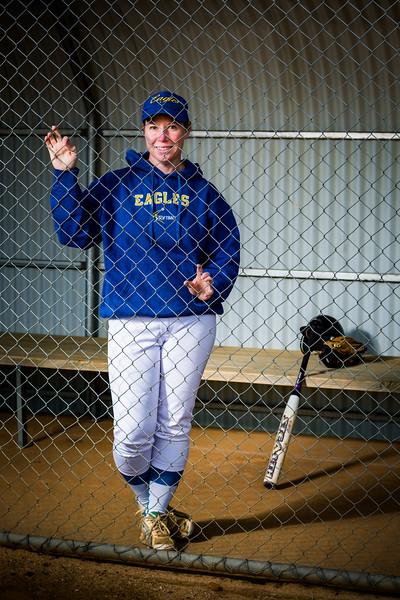 Sports Portraits - Softball - Sarah French-10