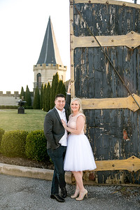 Paige & Jeremy's engagement photography at the Castlepost in Versailles, KY 2.27.15.  © 2016 Love & Lenses Photography/ Becky Flanery   www.loveandlenses.photography