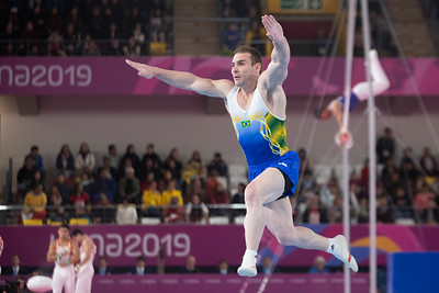 Pan American Games 2019:  Artistic Gymnastics Men's Team Qualification and Final  JUL 28