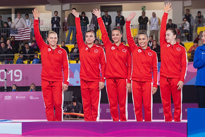 Pan American Games 2019:  Artistic Gymnastics Women's Qualification and Team Final  JUL 27