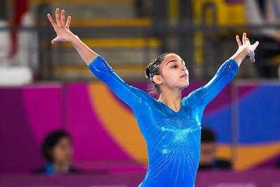 Pan American Games 2019: Artistic Gymnastics Women's All Around final JUL 29