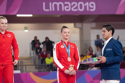 Pan American Games 2019: Artistic Gymnastics Apparatus Finals JUL 30