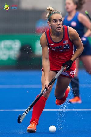 Pan American Games 2019: Field Hockey, Chile vs USA, Women's JUL 31