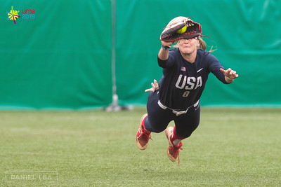 Pan American Games 2019: Women's Softball Gold Medal Game, Canada vs United States AUG 10