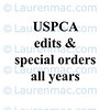 edits and special orders