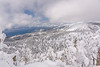 Winter over Tahoe Pano