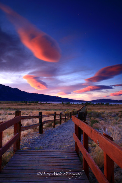 Lentinculars over Washoe Valley