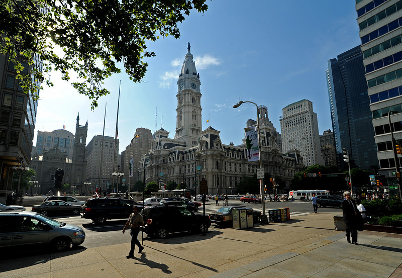 Philadelphia City Hall<br /> Ben Franklin Parkway<br /> Philadelphia<br /> 7 May 2010