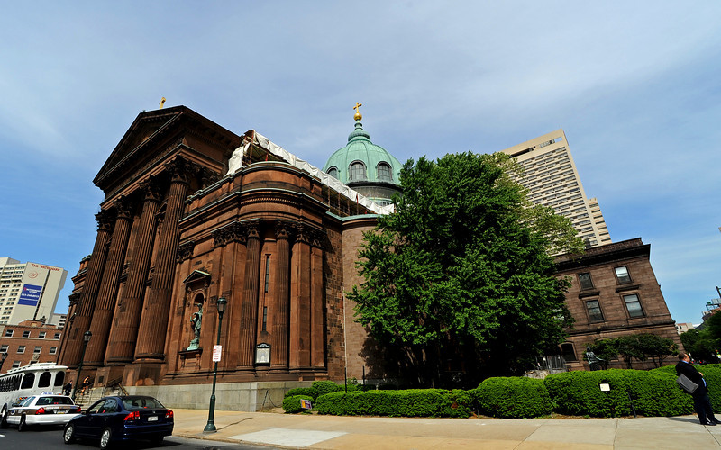 Cathedral Basilica of Saints Peter and Paul<br /> Ben Franklin Parkway<br /> Philadelphia<br /> 7 May 2010