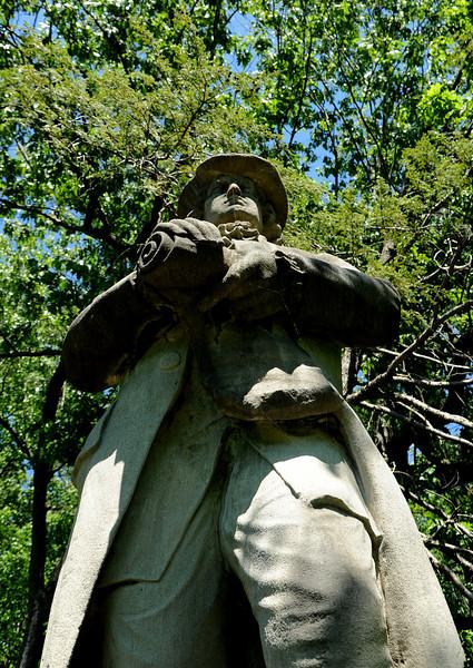 The Tolerance Statue<br /> Wissahickon<br /> Philadelphia<br /> 7 May 2010