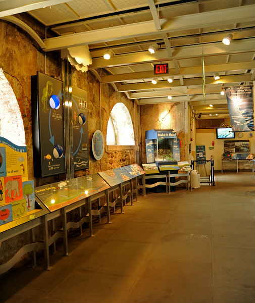 Fairmount Water Works Interpretive Center<br /> Ben Franklin Parkway<br /> Philadelphia<br /> 7 May 2010